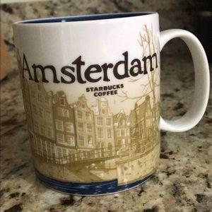 STARBUCKS AMSTERDAM CITY COLLECTORS MUG NWOT